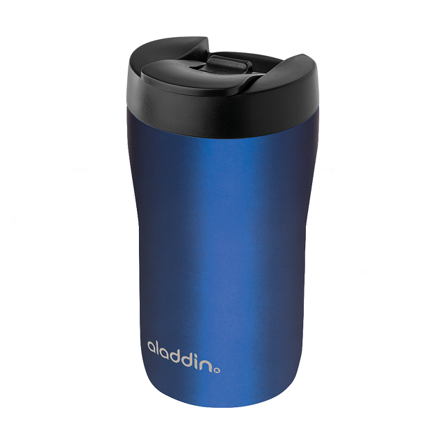 "Termohrnek ""Espresso"" 250 ml, modrý, Leak-Lock™ - Aladdin"