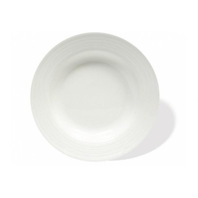 Hluboký talíř 23 cm, WHITE BASICS CIRQUE - Maxwell&Williams