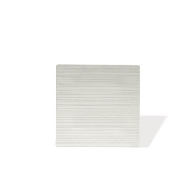 Čtvercový talíř 19 x 19 cm, WHITE BASICS CIRQUE - Maxwell&Williams