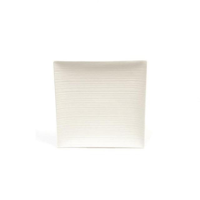 Čtvercový podnos 27 x 27 cm, WHITE BASICS CIRQUE - Maxwell&Williams