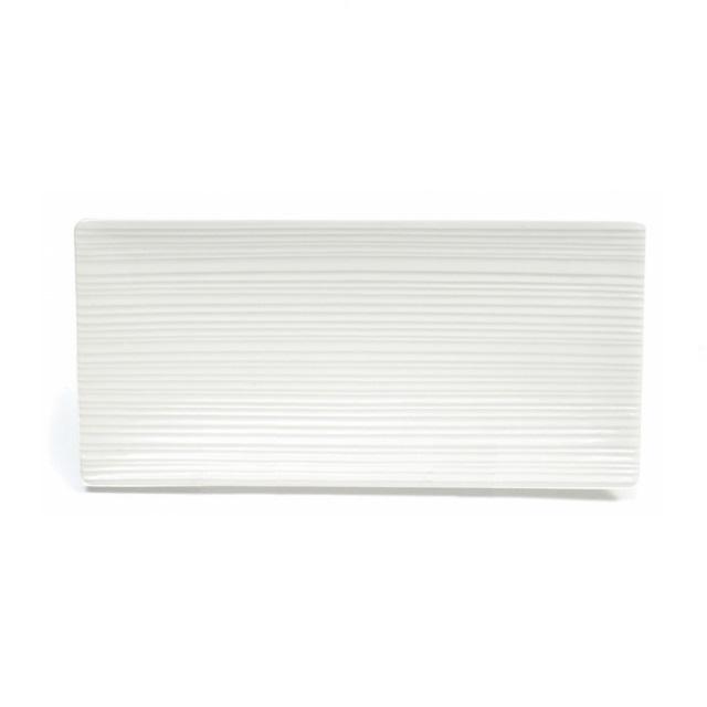 Obdélníkový podnos 24 x 11,5 cm, WHITE BASICS CIRQUE - Maxwell&Williams