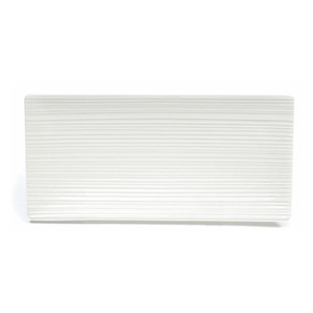 Obdélníkový podnos 29 x 13,5 cm, WHITE BASICS CIRQUE - Maxwell&Williams