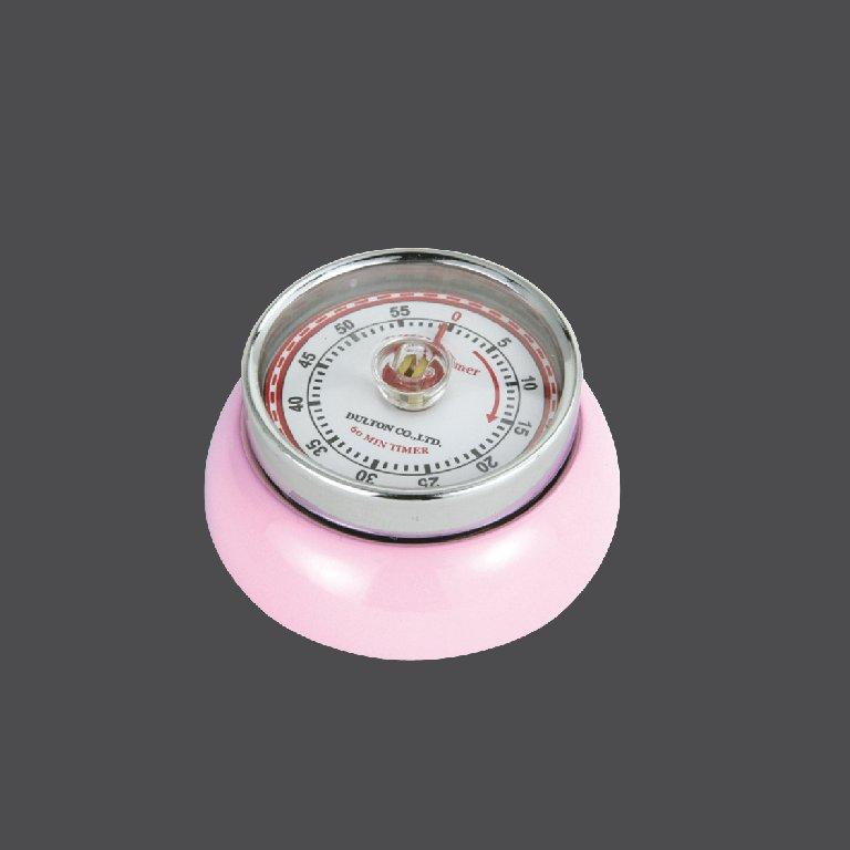 Kuchyňská magnetická minutka Speed Retro růžová - Zassenhaus