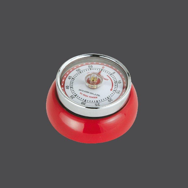 Kuchyňská magnetická minutka Speed Retro červená - Zassenhaus