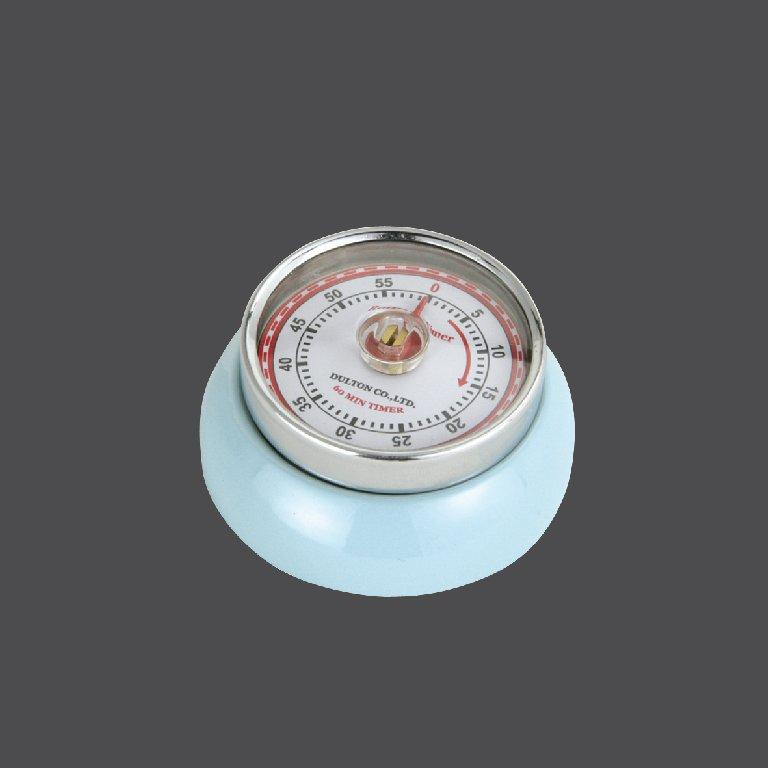 Kuchyňská magnetická minutka Speed Retro světle modrá - Zassenhaus