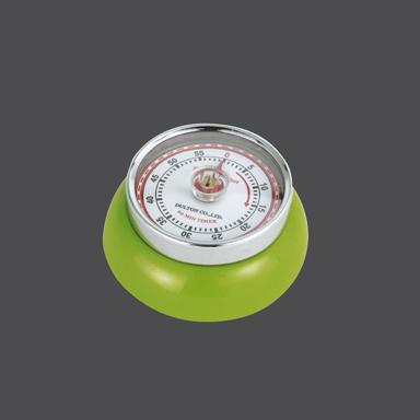 Kuchyňská magnetická minutka Speed Retro zelená - Zassenhaus