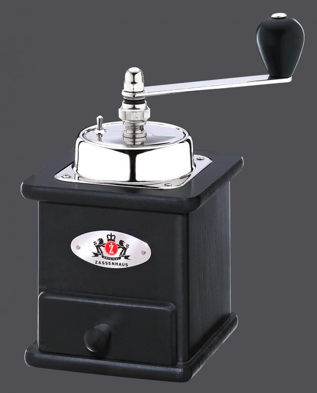 Mlýnek na kávu BRASILIA černý - Zassenhaus