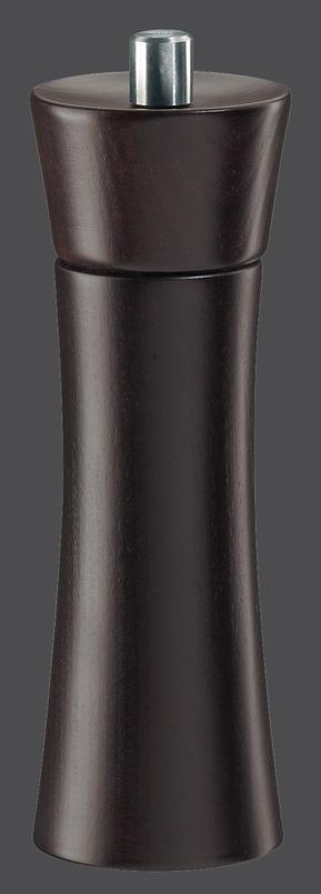 Mlýnek na pepř FRANKFURT hnědý mořený 18 cm - Zassenhaus