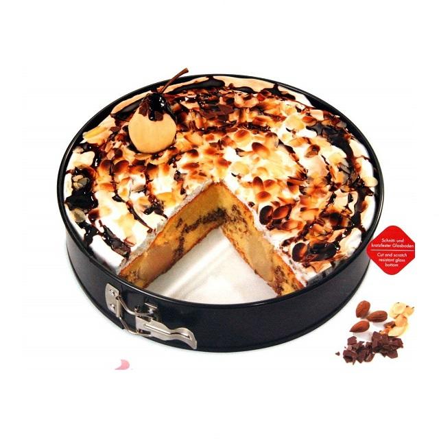 Forma na pečení se skleněným dnem 28 cm, BAKE ONE - Küchenprofi