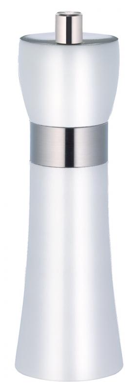 Mlýnek na sůl HAMBURG bílý 18 cm - Zassenhaus