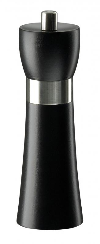 Mlýnek na sůl HAMBURG černý matný 18 cm - Zassenhaus