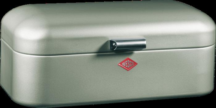 Chlebník Grandy 42 x 23 x 17 cm, nová stříbrná - Wesco