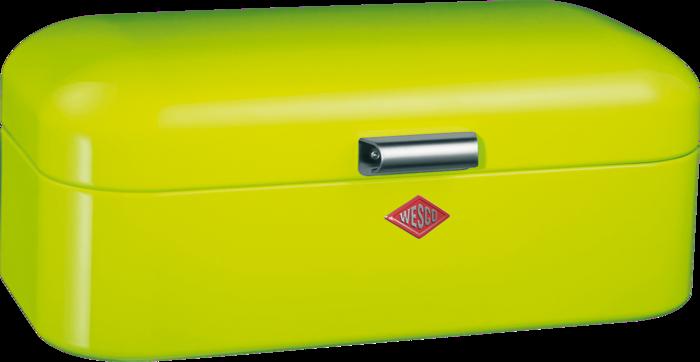 Chlebník Grandy 42 x 23 x 17 cm, světle zelený - Wesco