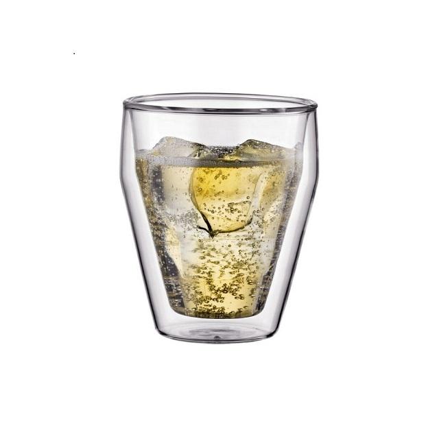 Set dvoustěnná sklenice 2 ks 0,25 l, TITLIS - BODUM