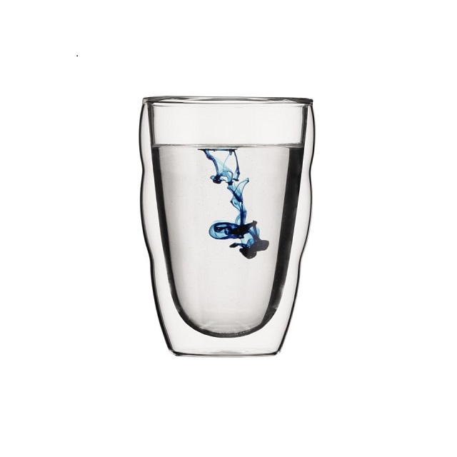 Set dvoustěnná sklenice 2 ks 0,35 l, PILATUS - BODUM