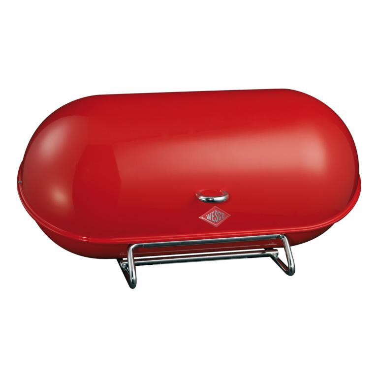 Chlebník Breadboy 44,3 x 21 x 23 cm, červený - Wesco