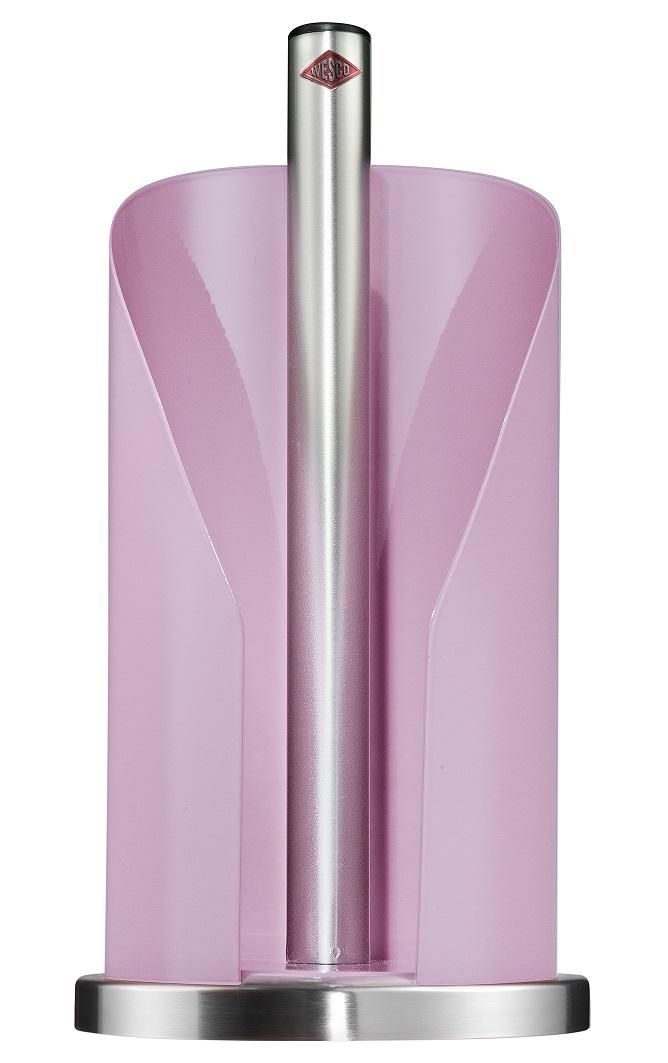 Držák na papírové ubrousky 15,5 cm, růžový - Wesco