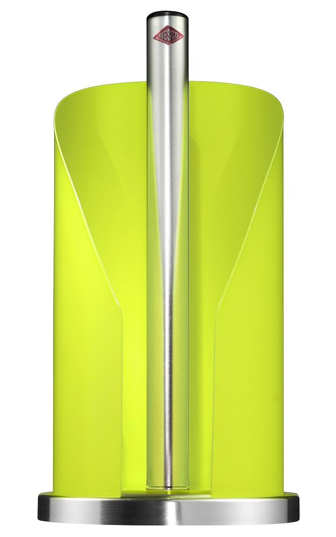 Držák na papírové ubrousky 15,5 cm, světle zelený - Wesco