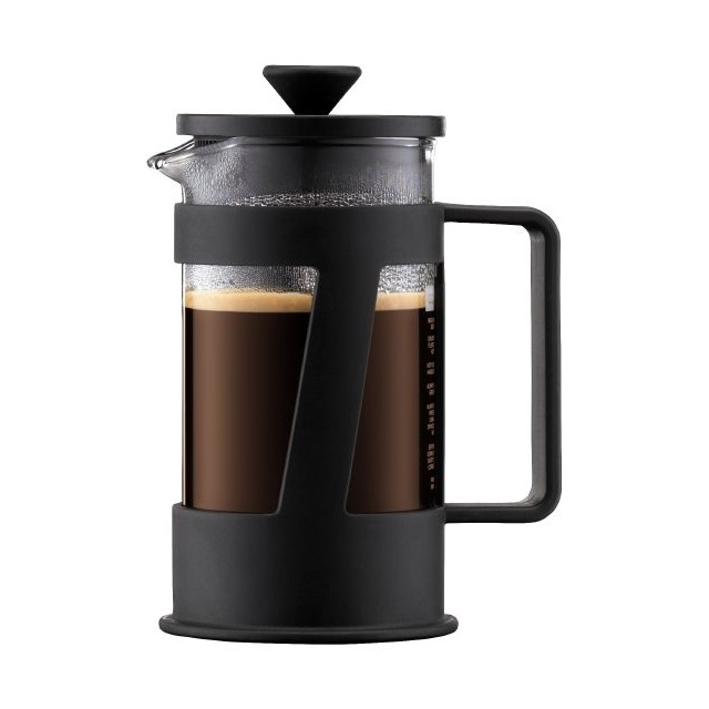 French press 0,35 l, černý, CREMA - BODUM