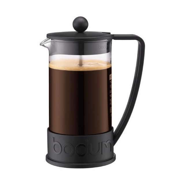French press 1 l, černý, BRAZIL - BODUM