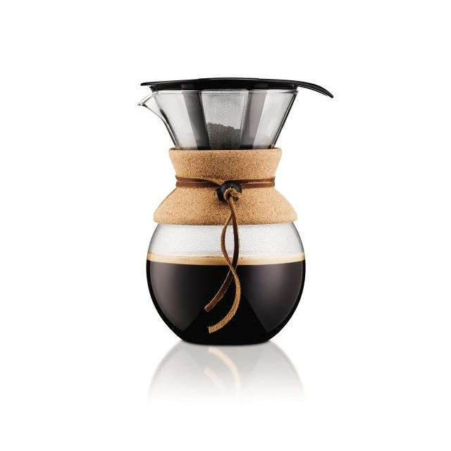 Coffee maker 1 l, korkový, POUR OVER - BODUM