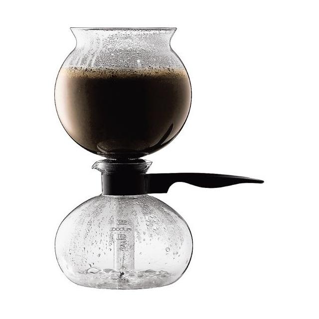 Vakuový Coffee maker 1 l, černý, PEBO - BODUM