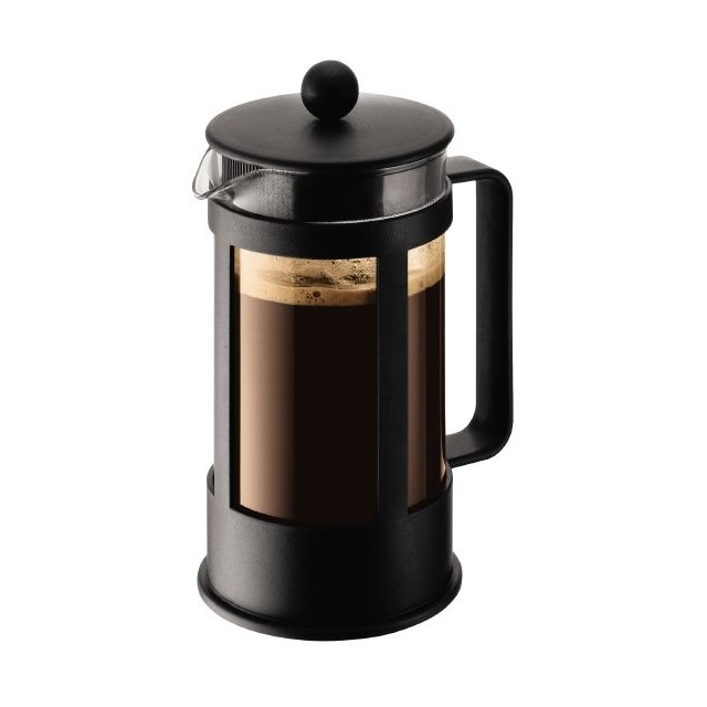 French press 1 l, černý, KENYA - BODUM