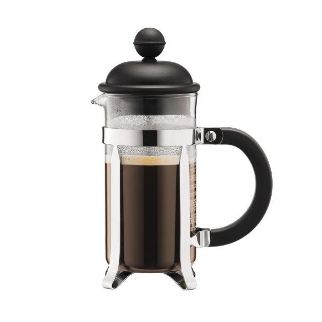 French press 0,35 l, černý, CAFFETTIERA - BODUM