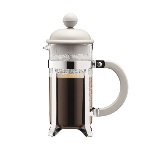 French press 0,35 l, bílý, CAFFETTIERA - BODUM