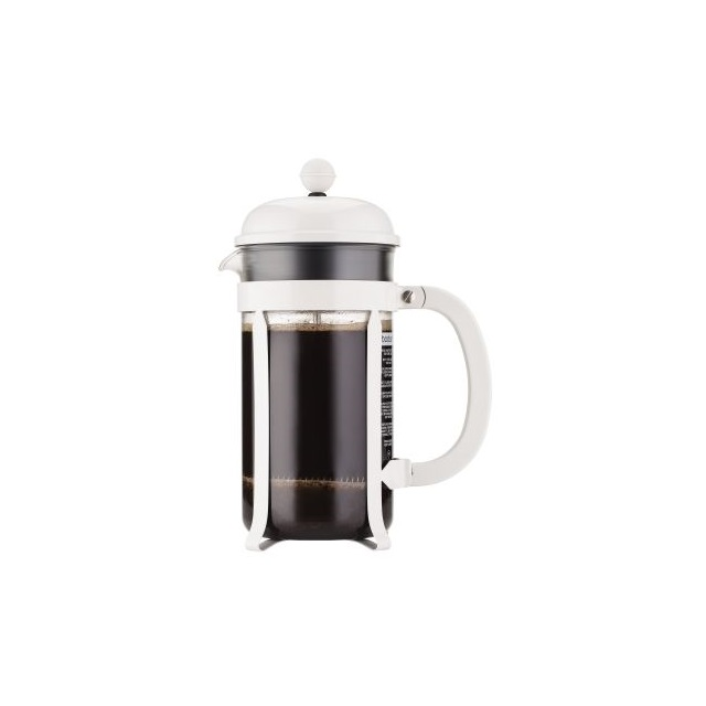 French press 1 l, bílý, CHAMBORD - BODUM