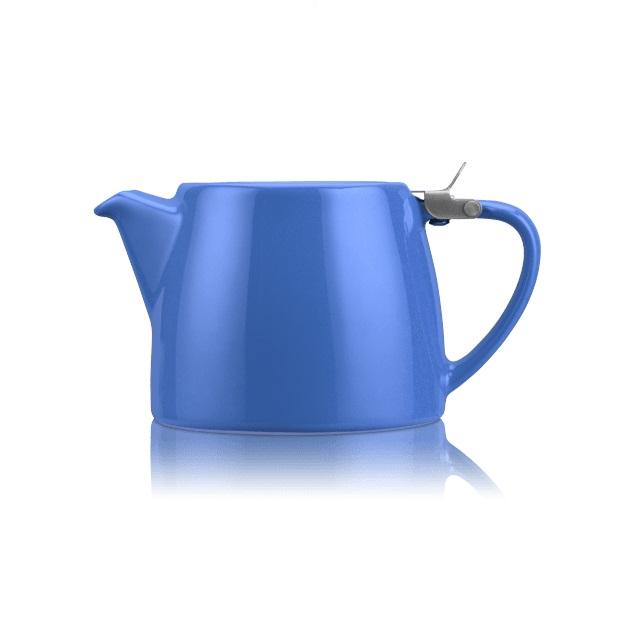 Porcelánová konvička na čaj 0,55 l modrá, STUMP - ForLife