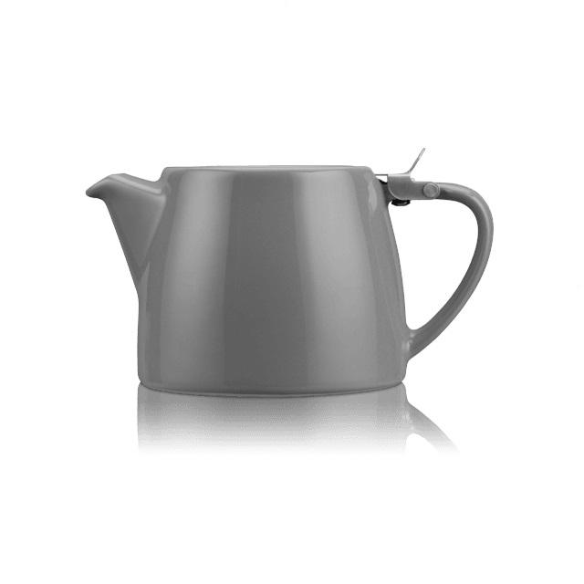 Porcelánová konvička na čaj 0,55 l šedá, STUMP - ForLife