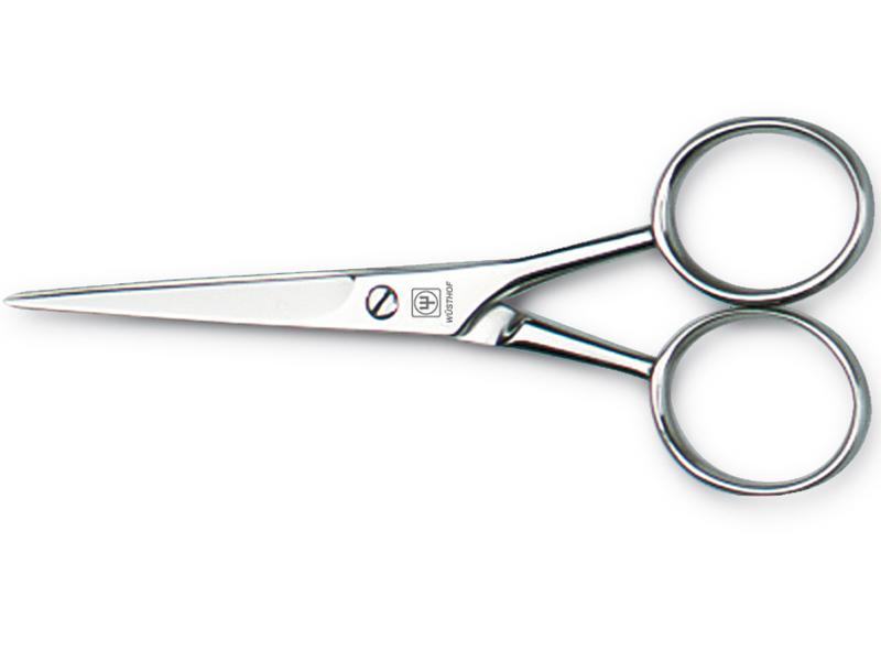 Nůžky na vousy 12 cm, nerezové matné - Wüsthof Dreizack Solingen
