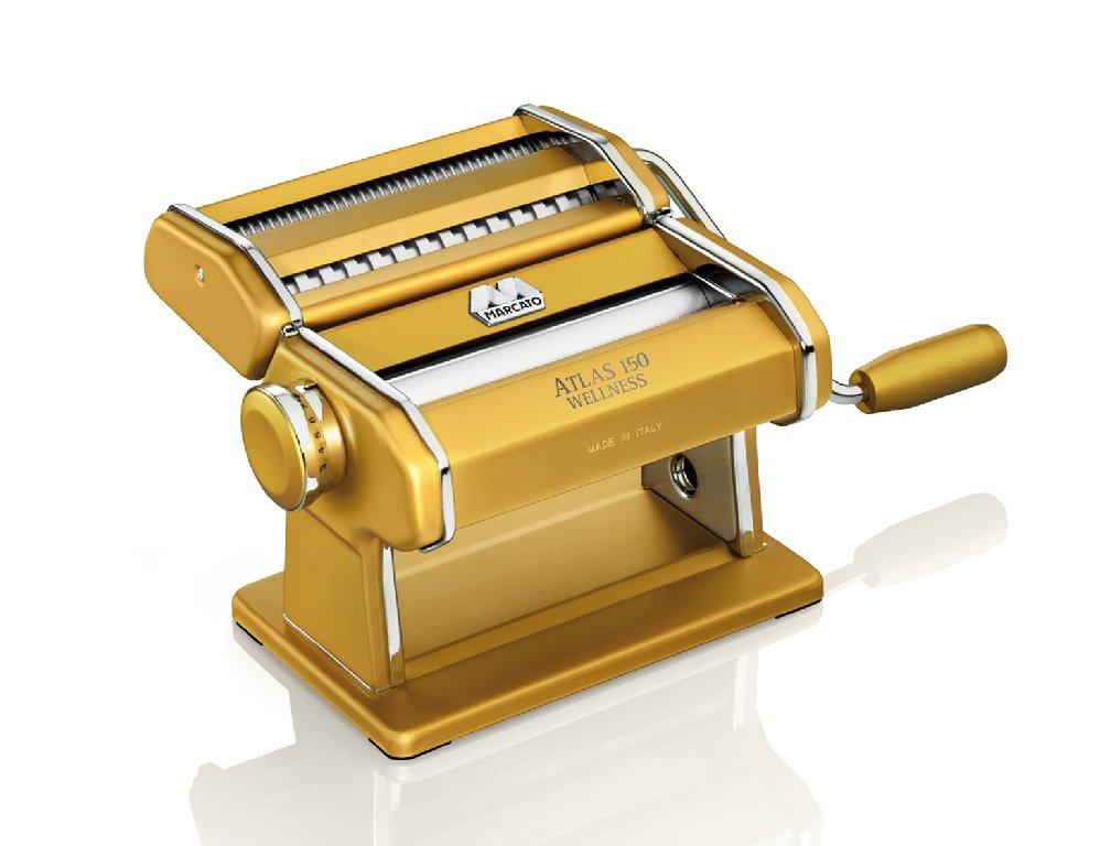 Strojek na těstoviny ATLAS 150 Marcato žlutý - Marcato