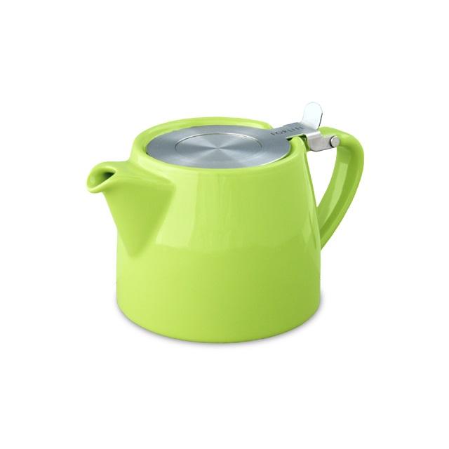 Porcelánová konvička na čaj 0,4 l limetková, STUMP - ForLife