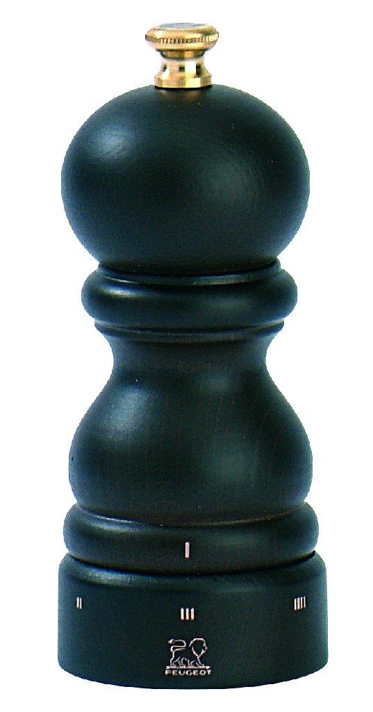 Dřevěný mlýnek na sůl 12 cm čokoládový PARIS - Peugeot