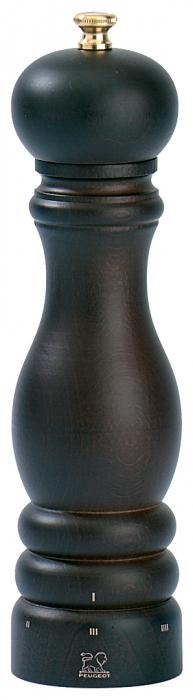 Dřevěný mlýnek na pepř 18 cm čokoládový PARIS - Peugeot