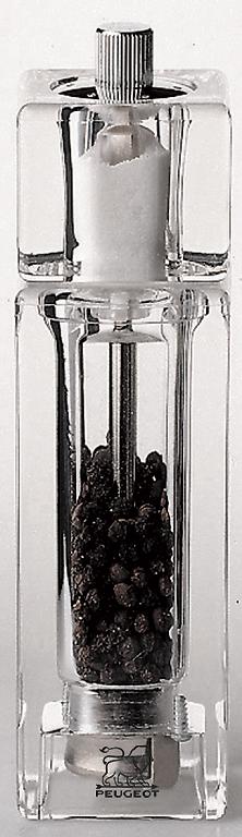 Mlýnek na pepř se solničkou 15 cm PONTARLIER - Peugeot