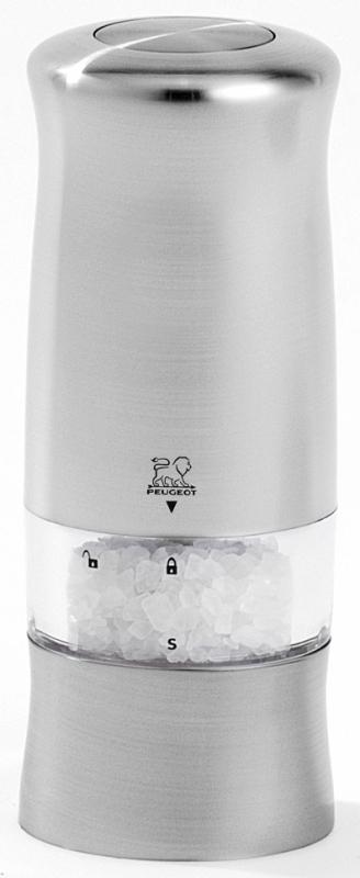 Elektrický mlýnek na sůl 14 cm nerez ZELI - Peugeot