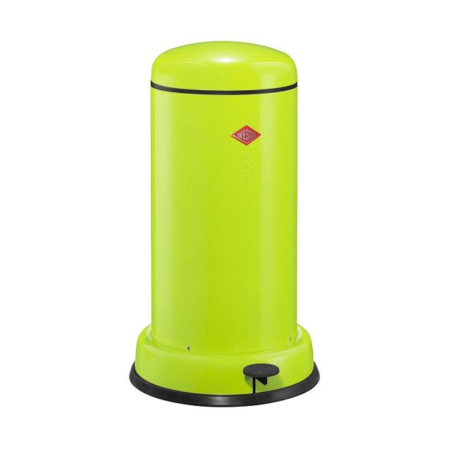 Odpadkový koš 20 l, světle zelený, BASEBOY - WESCO