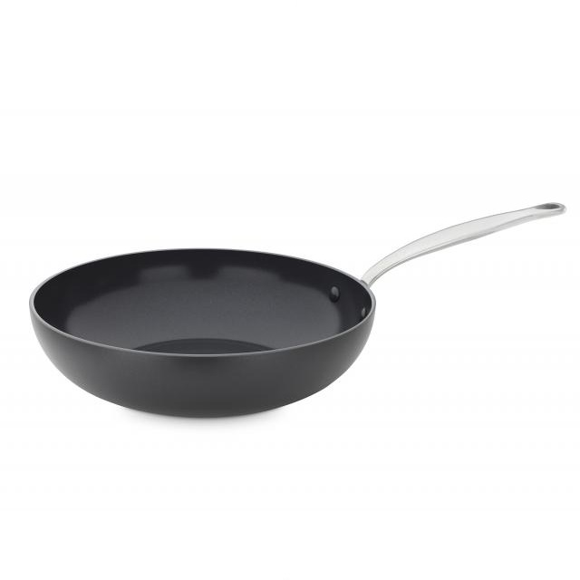 Wok pánev 28 cm, BARCELONA BLACK - GREENPAN