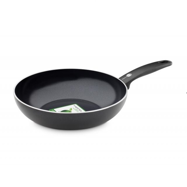 Wok pánev 28 cm, CAMBRIDGE BLACK - GREENPAN
