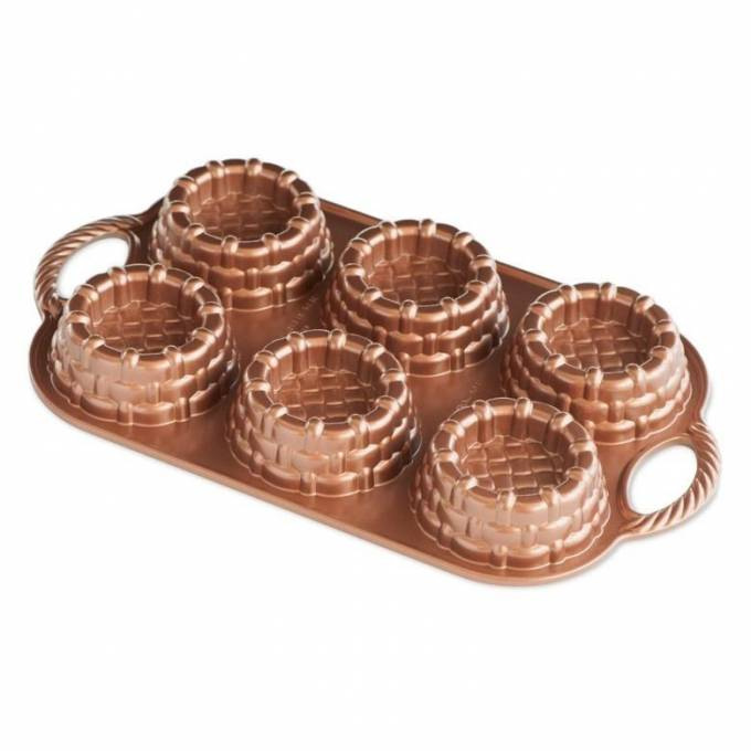 Forma na 6 dortíků, KOŠÍČKY - NORDIC WARE