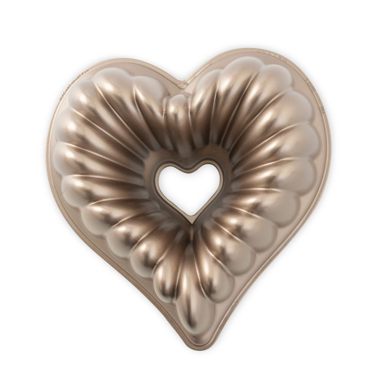 Forma na bábovku ELEGANT HEART - NORDIC WARE
