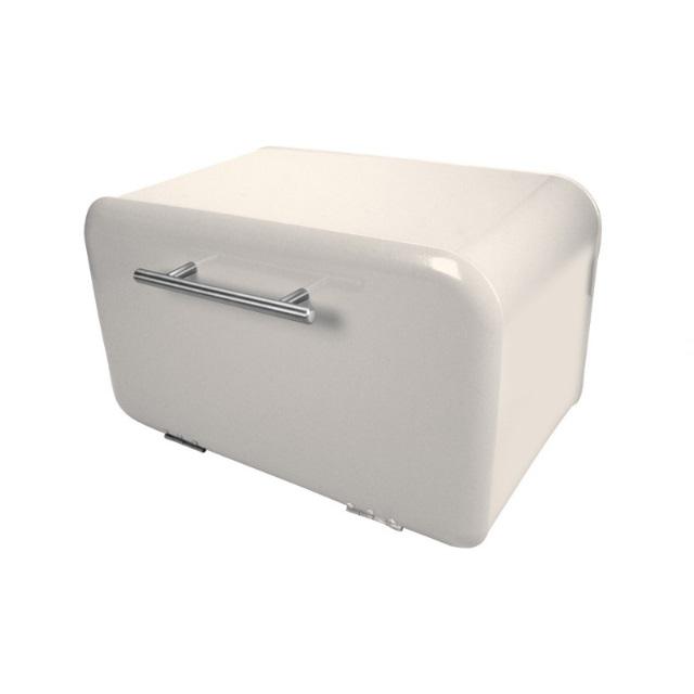 Retro chlebník 35 x 20 cm bílý - GUSTA