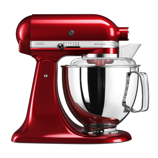 Robot ARTISAN 5KSM175 červená metalíza - KitchenAid