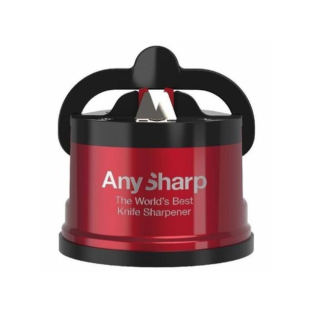 Brousek na nože, metalická červená, PRO - AnySharp