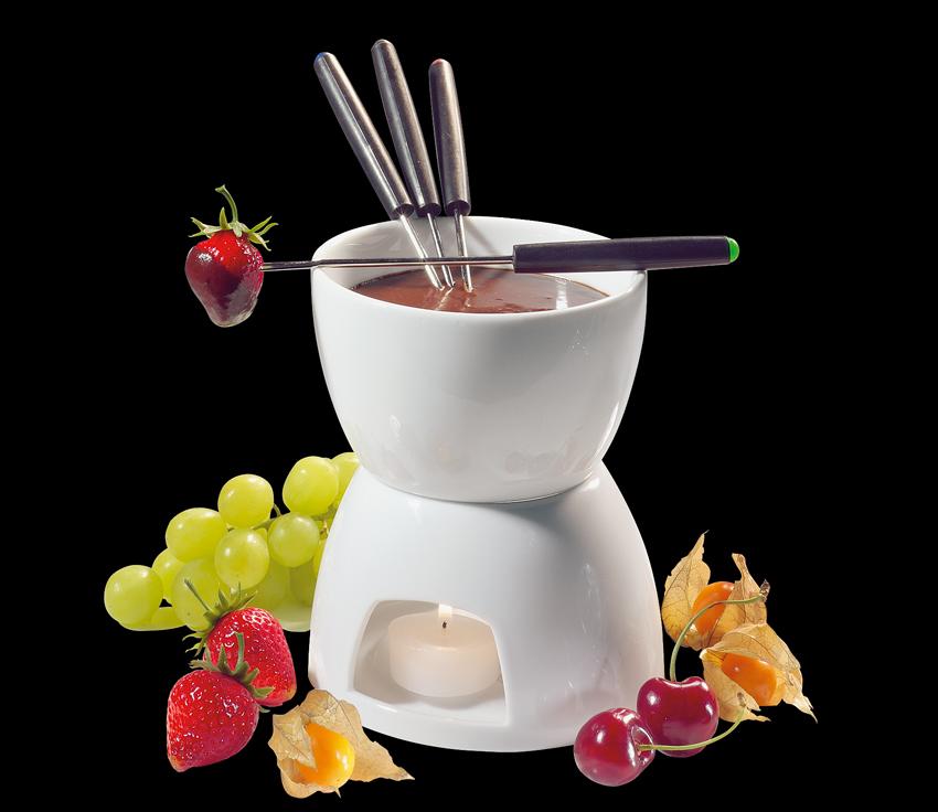 Čokoladové fondue bílé Classic - Cilio