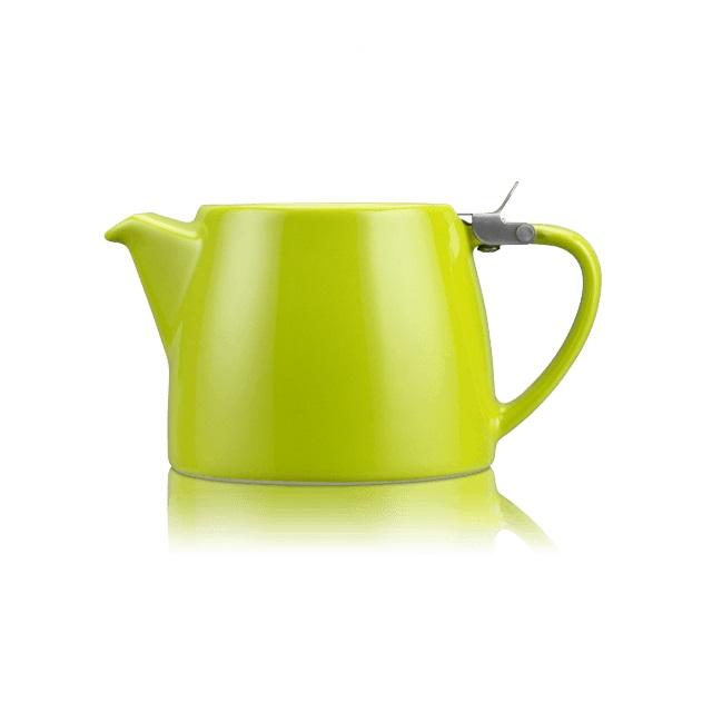 Porcelánová konvička na čaj 0,55 l limetková, STUMP - ForLife