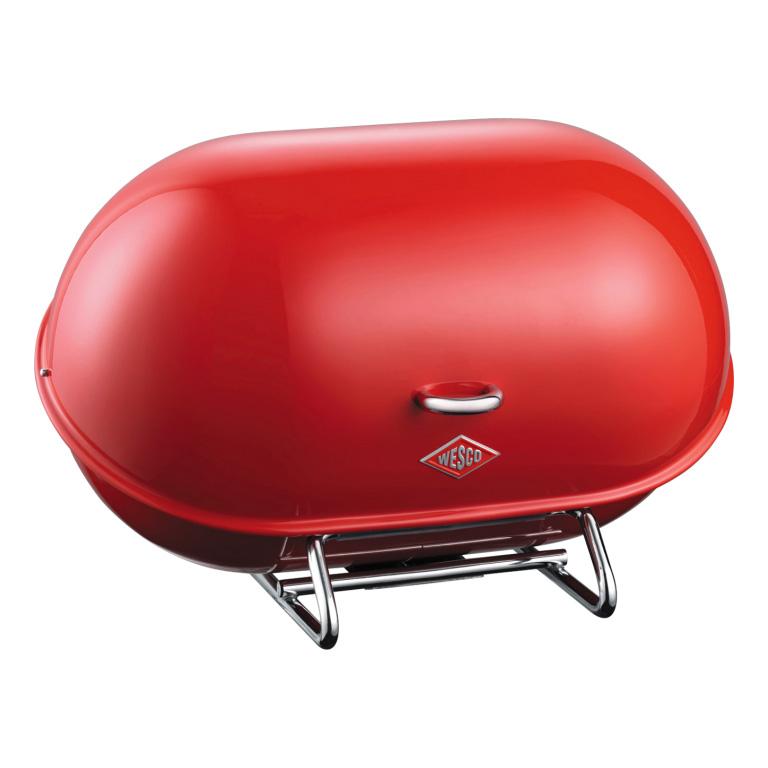 Chlebník Single Breadboy 34 x 21 x 23 cm, červený - Wesco